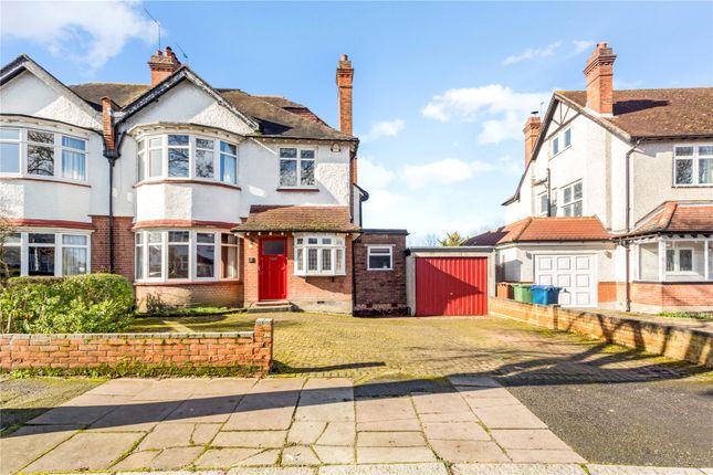 Thumbnail Semi-detached house for sale in Gerard Road, Harrow, Middlesex