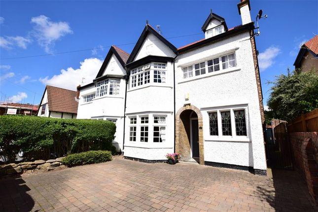 Thumbnail Semi-detached house for sale in Rolleston Drive, Wallasey, Merseyside