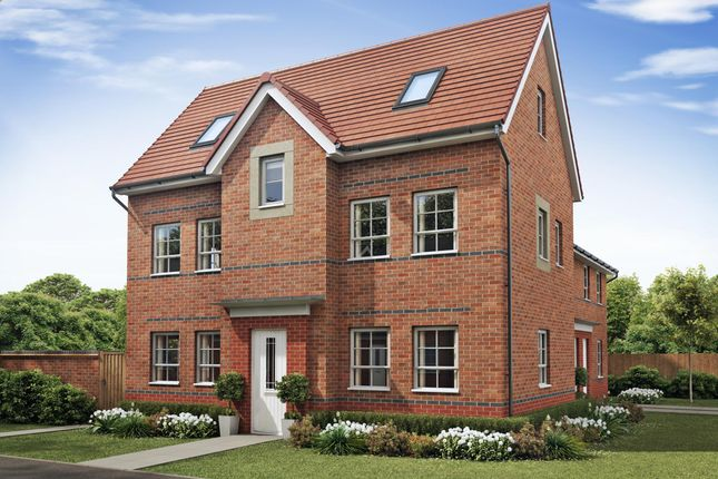 """Thumbnail Detached house for sale in """"Hesketh"""" at The Long Shoot, Nuneaton"""