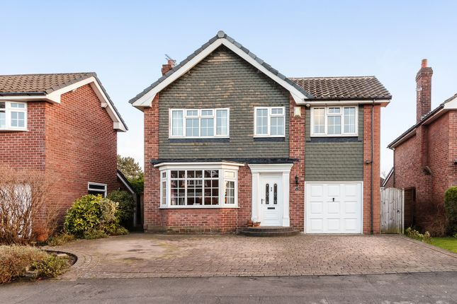 Thumbnail Detached house for sale in Marlborough Avenue, Cheadle Hulme, Cheshire.