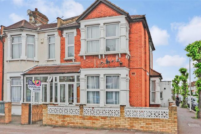 Thumbnail End terrace house for sale in Browning Road, Manor Park, London
