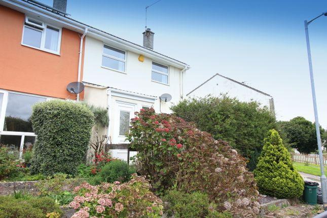 Thumbnail End terrace house to rent in Spencer Gardens, Saltash
