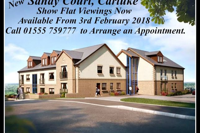 Thumbnail Flat for sale in Sandy Court, Sandy Road, Carluke
