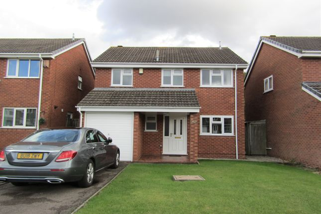 Thumbnail Detached house to rent in Tamar Drive, Sutton Coldfield