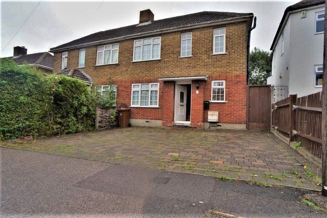 Thumbnail Semi-detached house for sale in Cedar Road, Rochester, Kent