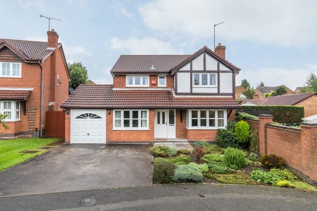 Thumbnail Detached house for sale in Lothlorien Close, Littleover, Derby