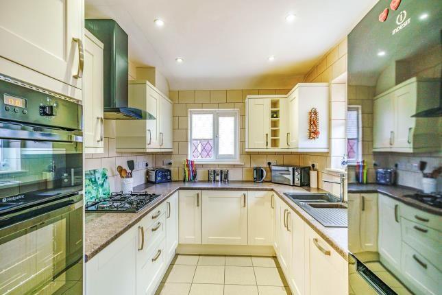 Kitchen of Whitehall Crescent, Chessington, Surrey, . KT9