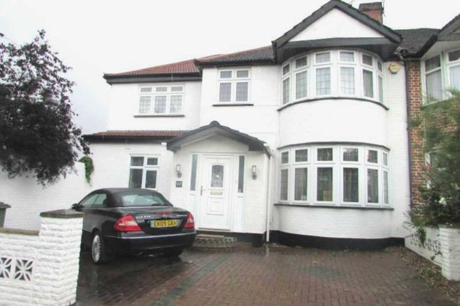 Thumbnail Semi-detached house to rent in College Hill Road, Harrow Weald, Harrow