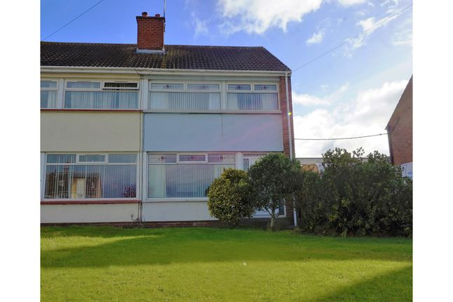 Thumbnail Semi-detached house for sale in Lisnabreen Crescent, Bangor