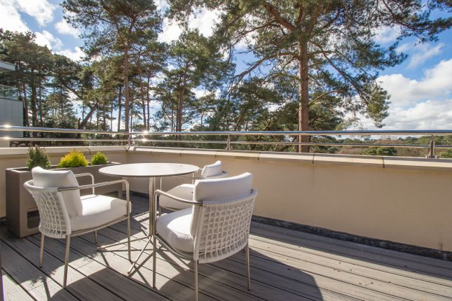 Thumbnail Flat for sale in Liliput Road, Canford Cliffs, Poole