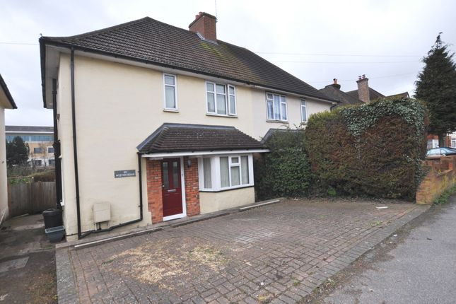 Thumbnail Semi-detached house to rent in Weston Road, Guildford