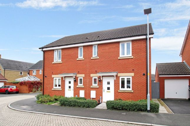 2 bed semi-detached house to rent in Leisler Gardens, Castle Mead, Trowbridge, Wiltshire BA14