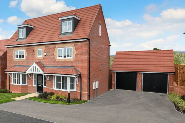 "Thumbnail Detached house for sale in ""Warwick"" at Stanley Close, Corby"