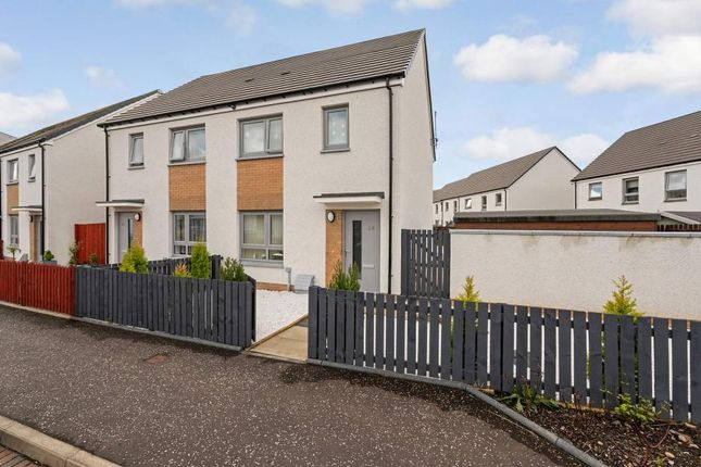 Thumbnail Semi-detached house for sale in Huntly Crescent, Stirling, Stirlingshire
