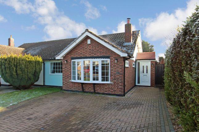 Thumbnail Semi-detached bungalow for sale in Sandown Road, Benfleet, Essex