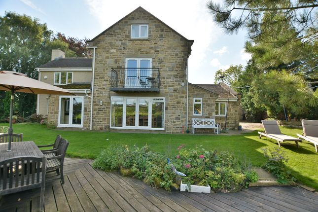 Thumbnail Detached house for sale in Harewood Road, Collingham, Wetherby, West Yorkshire