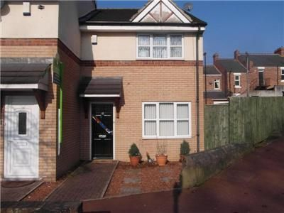 Thumbnail Semi-detached house to rent in Chapel Court, Davison Street, Newburn