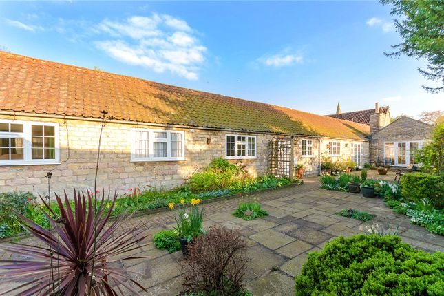 Thumbnail Detached bungalow for sale in Manor Barns, Welby, Grantham