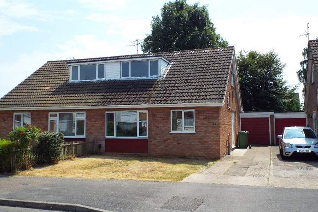 Thumbnail Semi-detached house for sale in Bradshaw Way, Irchester, Northamptonshire