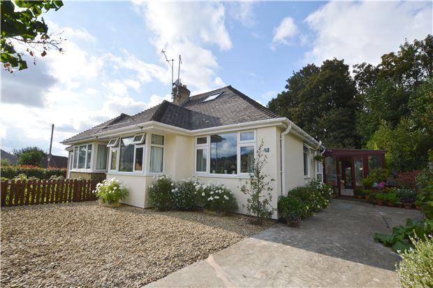 Thumbnail Semi-detached bungalow for sale in Noverton Avenue, Prestbury, Cheltenham, Gloucestershire
