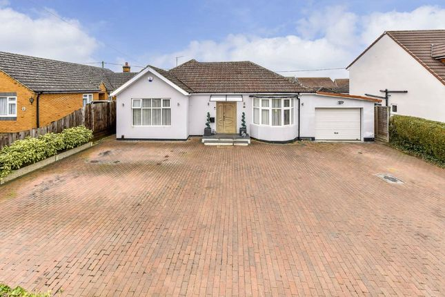 Thumbnail Detached bungalow for sale in Polwell Lane, Barton Seagrave, Northamptonshire