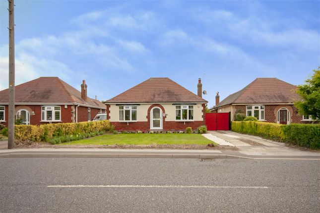 Thumbnail Detached bungalow for sale in Moor Road, Papplewick, Nottinghamshire