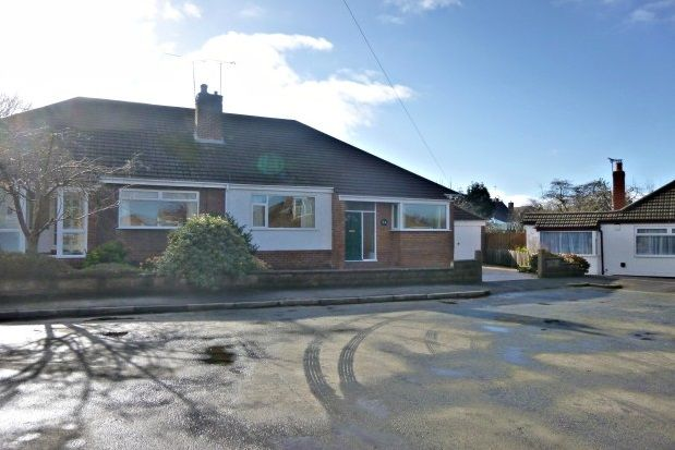 Thumbnail Semi-detached bungalow to rent in Lester Drive, Wirral
