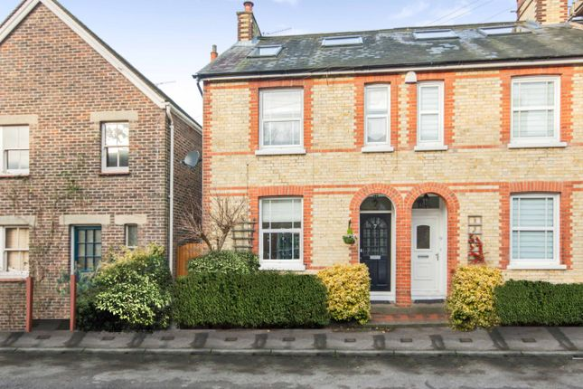 Thumbnail End terrace house for sale in Norbury Road, Reigate