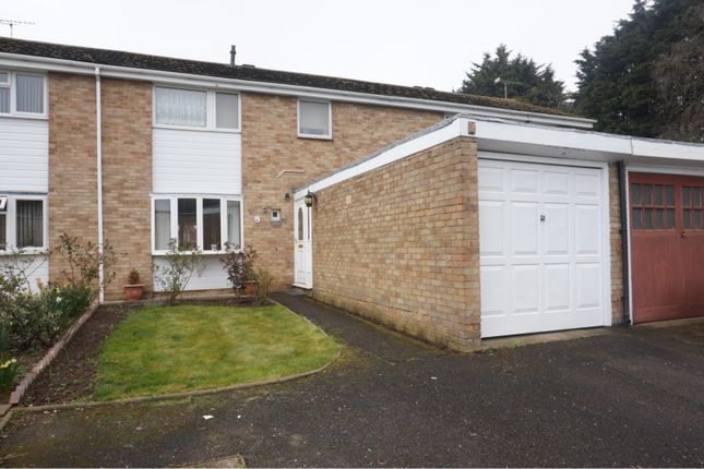 Thumbnail Terraced house for sale in Poplar Close, Witham