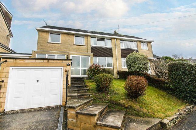 Thumbnail Semi-detached house to rent in Napier Road, Upper Weston, Bath