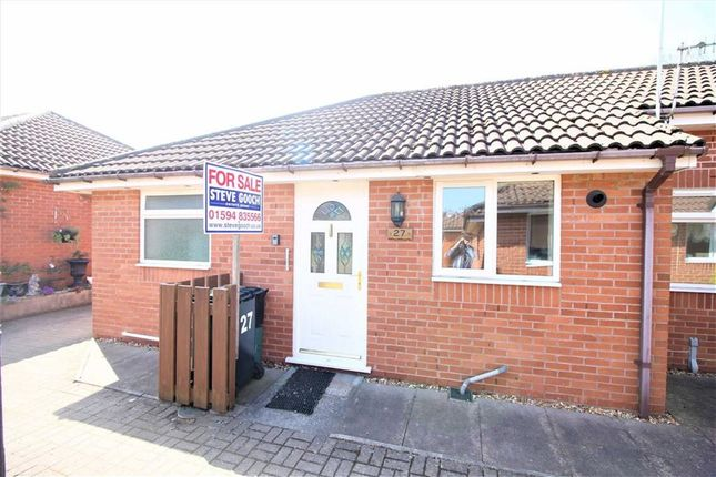 Thumbnail Semi-detached bungalow for sale in Kings Meade, Coleford