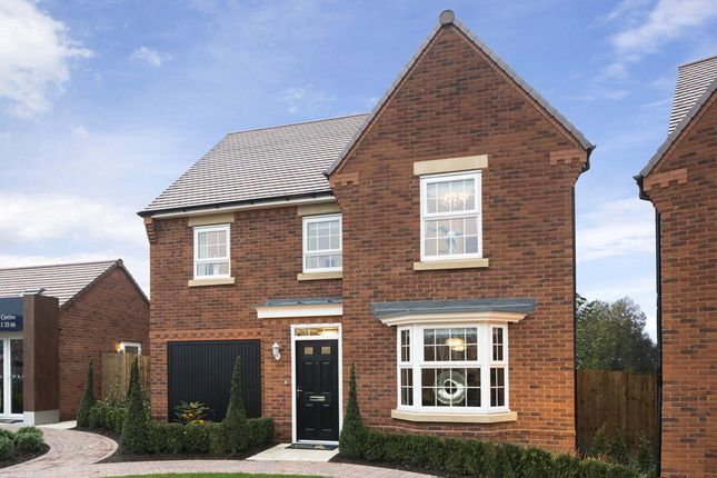 "Thumbnail Detached house for sale in ""Millford"" at Croft Drive, Moreton, Wirral"