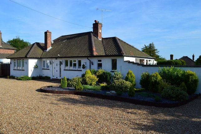 Thumbnail Bungalow to rent in Ropes Hill, Horning, Norwich