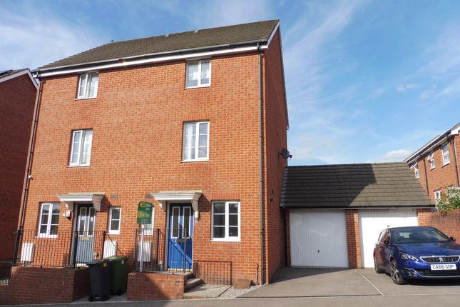 Thumbnail Semi-detached house for sale in Brynheulog, Pentwyn, Cardiff