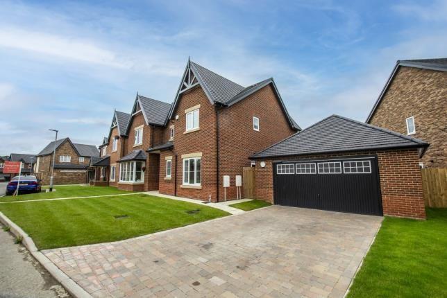 Thumbnail Detached house for sale in Dissington View, Medburn Park, Medburn, Northumberland