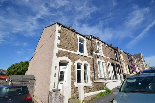 Thumbnail Terraced house to rent in Frostoms Road, Workington
