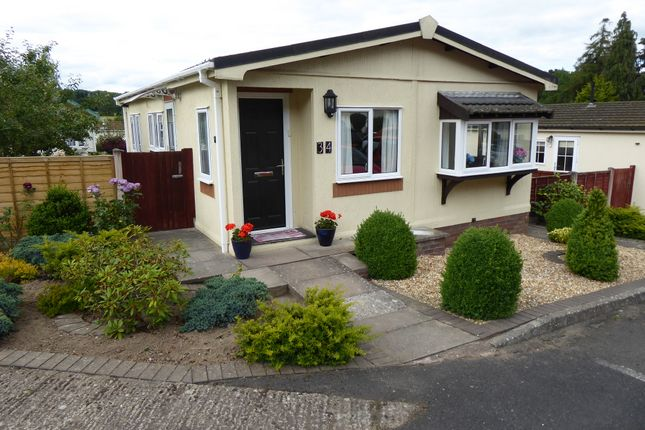 Thumbnail Mobile/park home for sale in Cliff Park, Ludlow, Shropshire
