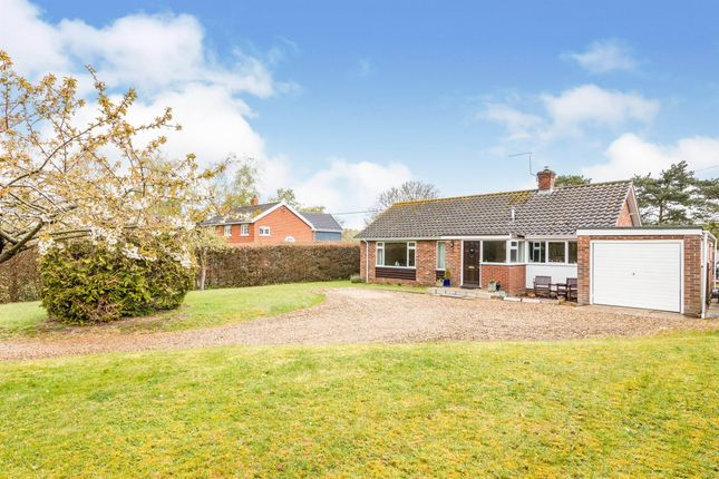 Thumbnail Detached bungalow for sale in Tunneys Lane, Ditchingham, Bungay