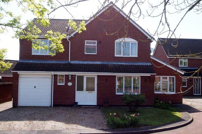 Thumbnail Detached house for sale in Mount Surrey, Wymondham