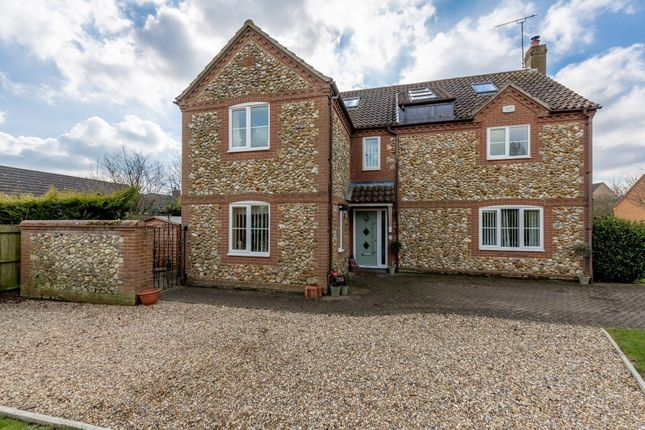Thumbnail Detached house for sale in Chequers Lane, Gressenhall, Dereham