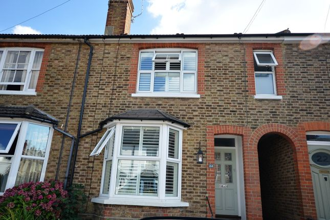 Thumbnail End terrace house to rent in Albion Road, Reigate