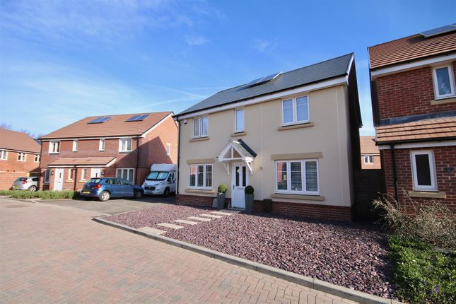 Thumbnail Detached house for sale in Orsted Drive, Drayton, Portsmouth