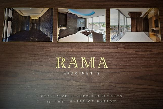 Thumbnail Flat for sale in Rama Apartments, Harrow, Greater London