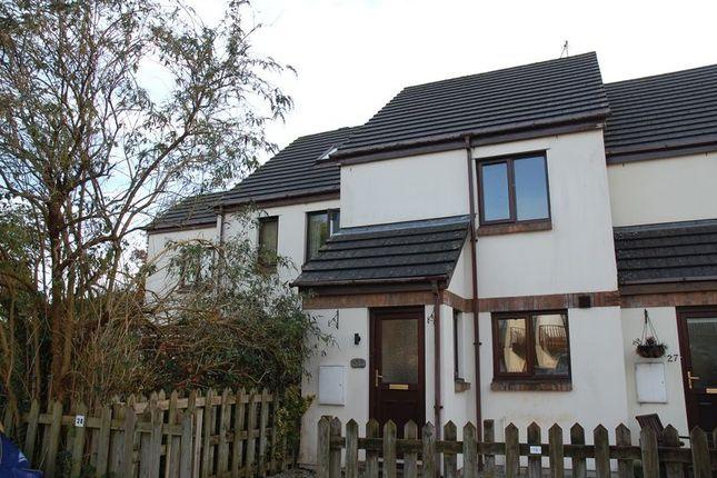 Thumbnail Terraced house to rent in Rivendell, Wadebridge