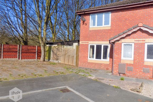 Thumbnail Semi-detached house for sale in Wood Edge Close, Bolton