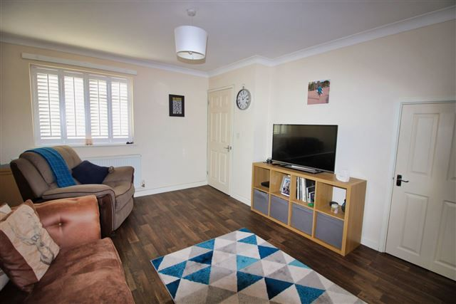 Lounge of Elmton View, Creswell, Worksop, Derbyshire S80