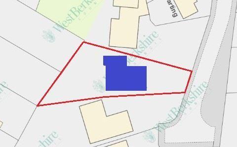 Plot Outline of Falkland Drive, Newbury RG14