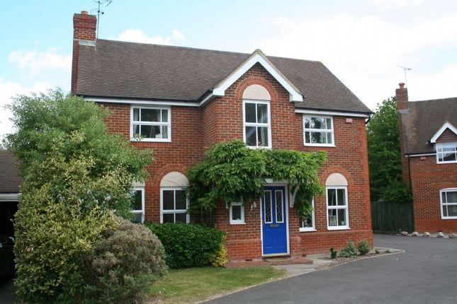 Thumbnail Detached house to rent in Grensell Close, Eversley Cross, Hampshire
