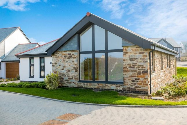 Thumbnail Detached bungalow for sale in Bellier's Close, St. Ives, Cornwall