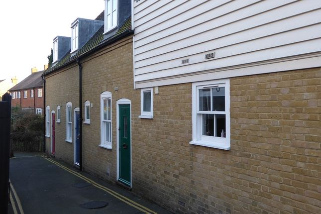 Thumbnail Terraced house to rent in Oyster Mews, Skinners Alley, Whitstable